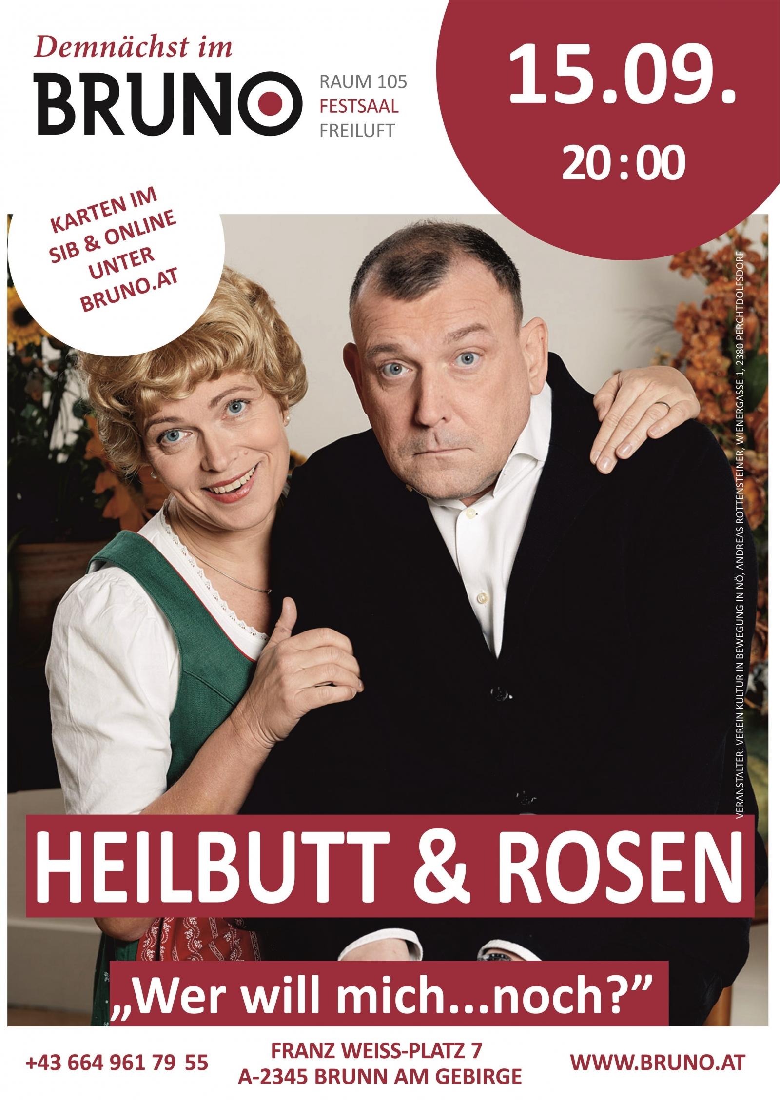 Heilbutt und Rosen - Wer will mich...noch?