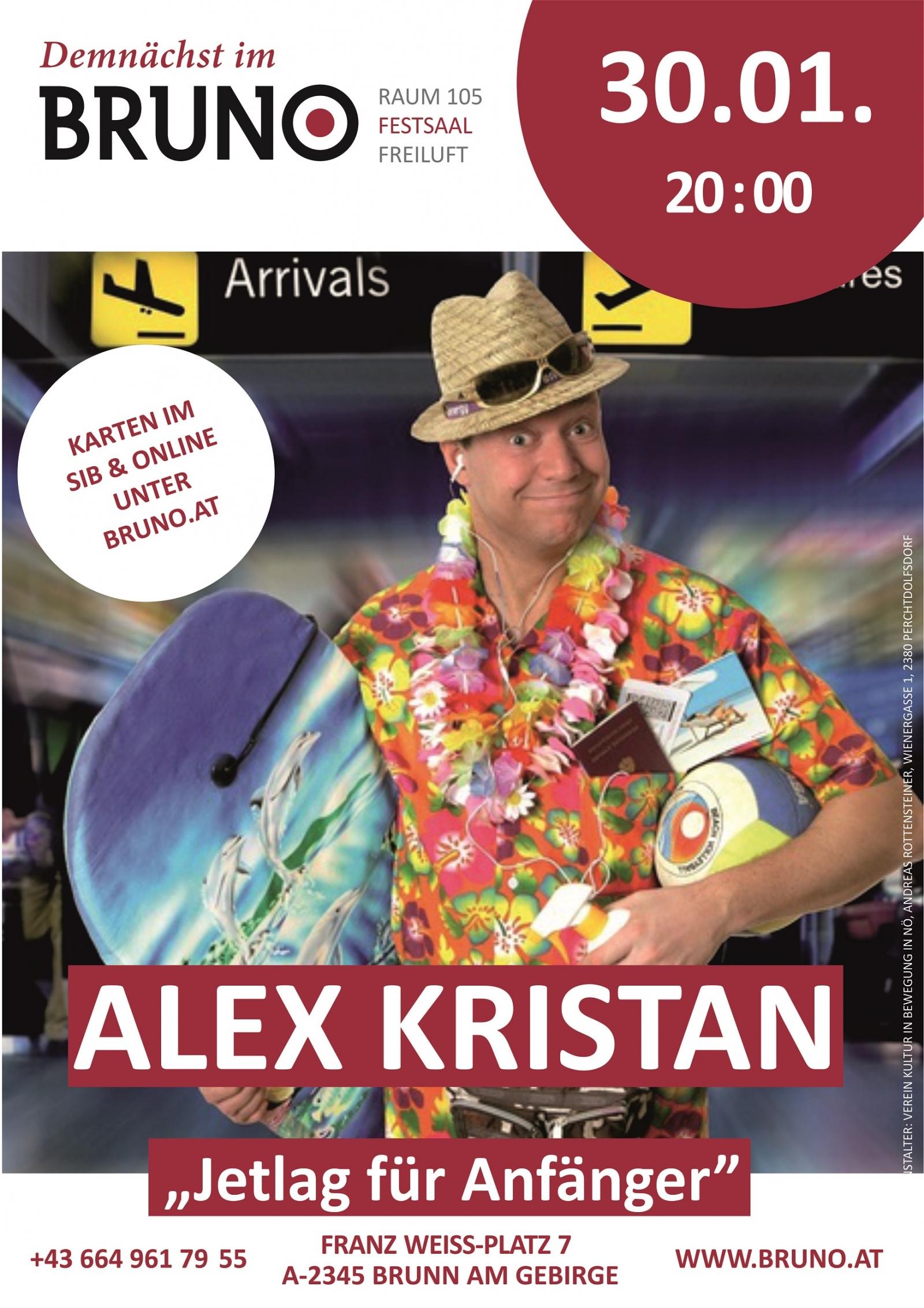 Alex Kristan Jetlag für Anfänger