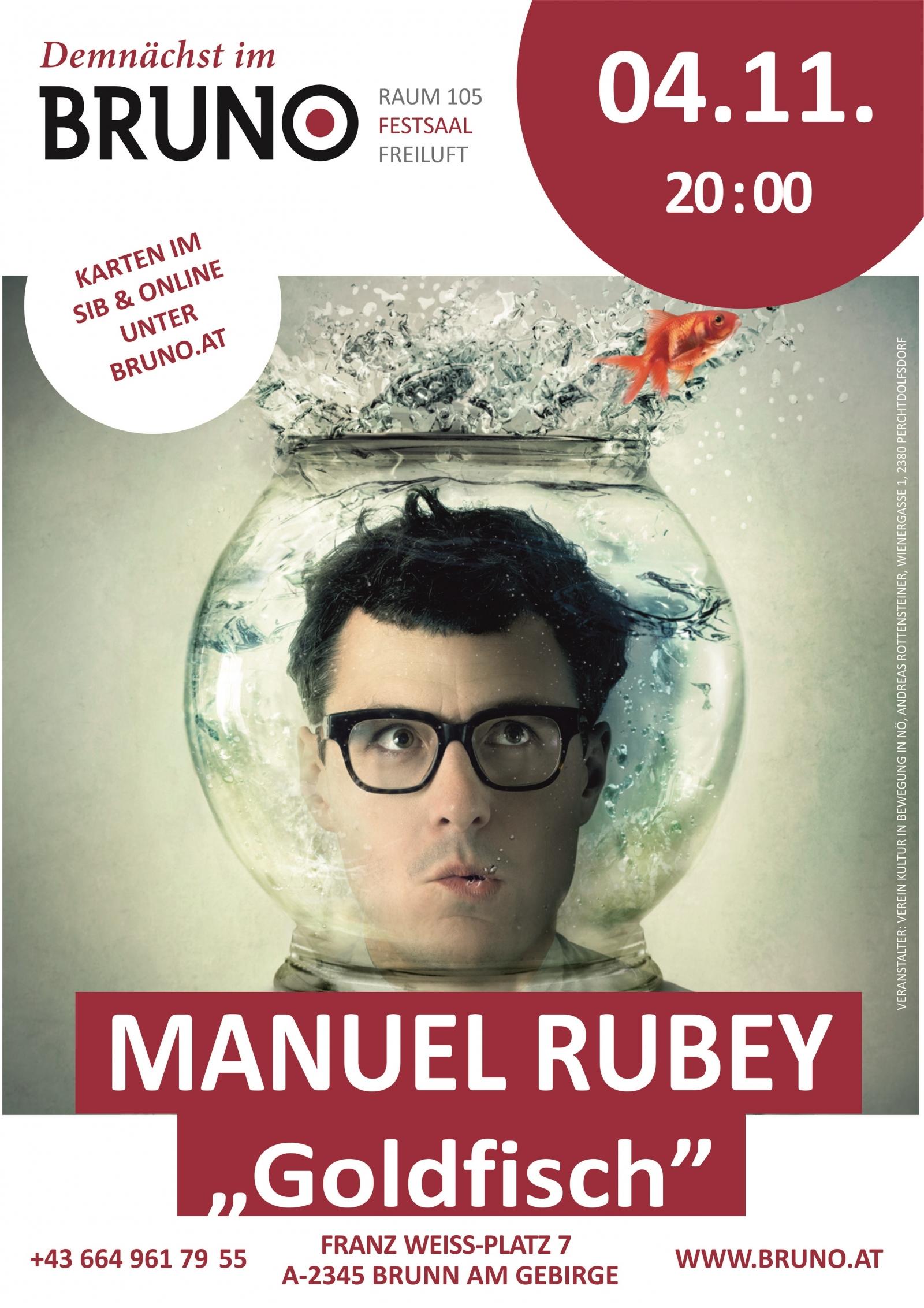 Manuel Rubey - Goldfisch