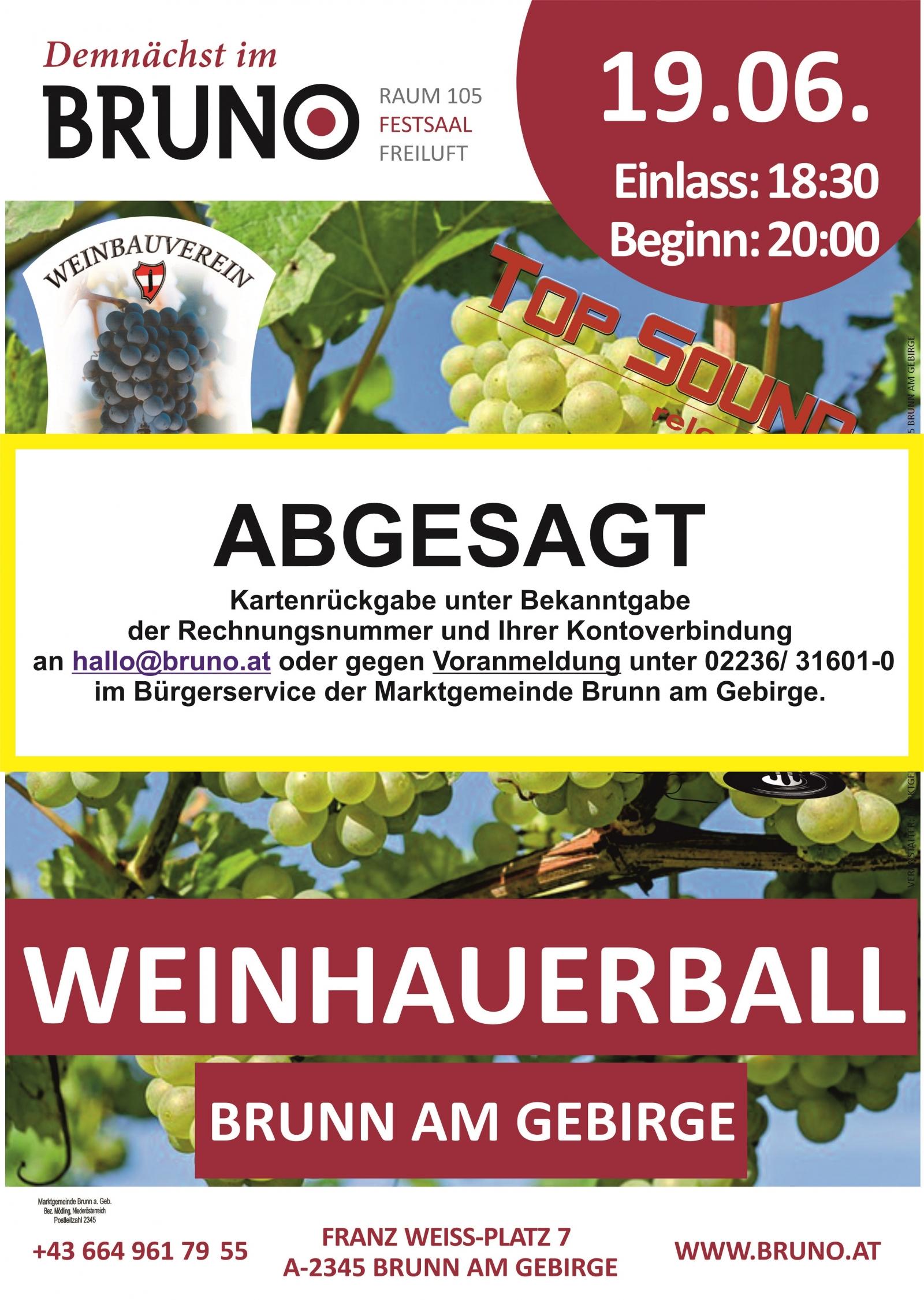 Weinhauerball Brunn am Gebirge