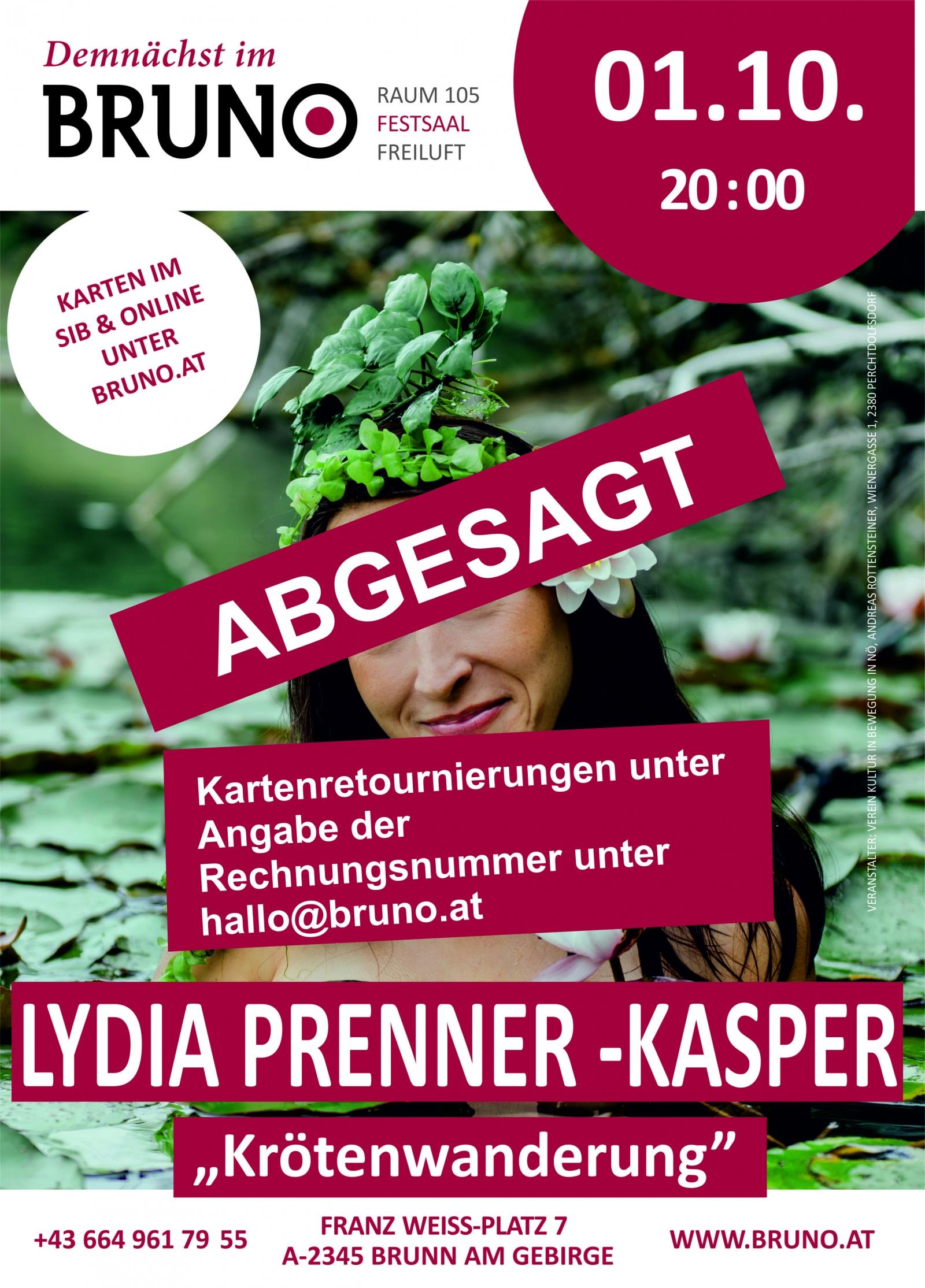 Lydia Prenner - Kasper - Krötenwanderung