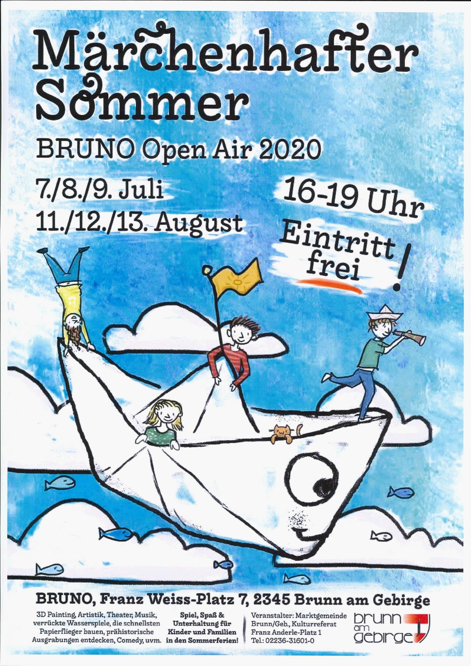 Märchenhafter Sommer - BRUNO Open Air 2020