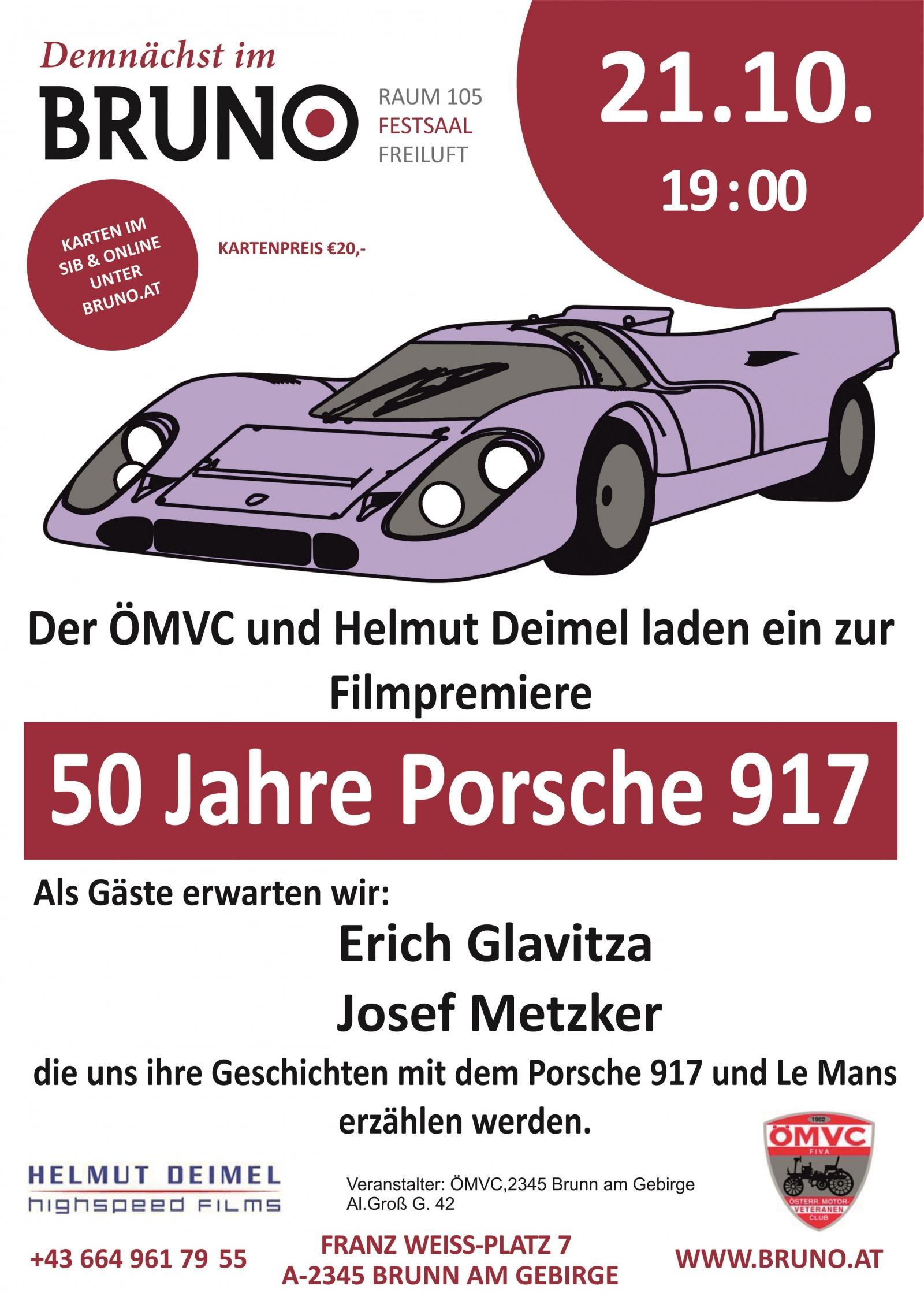 50 Jahre Porsche 917