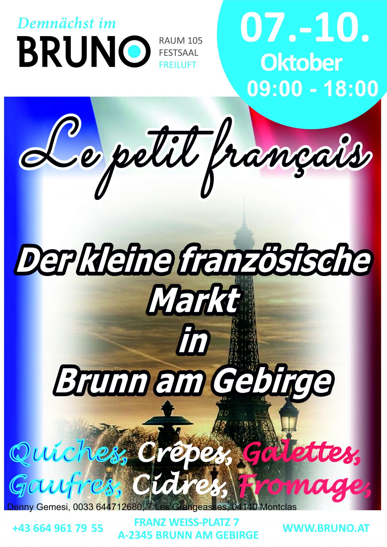 Der kleine französische Markt