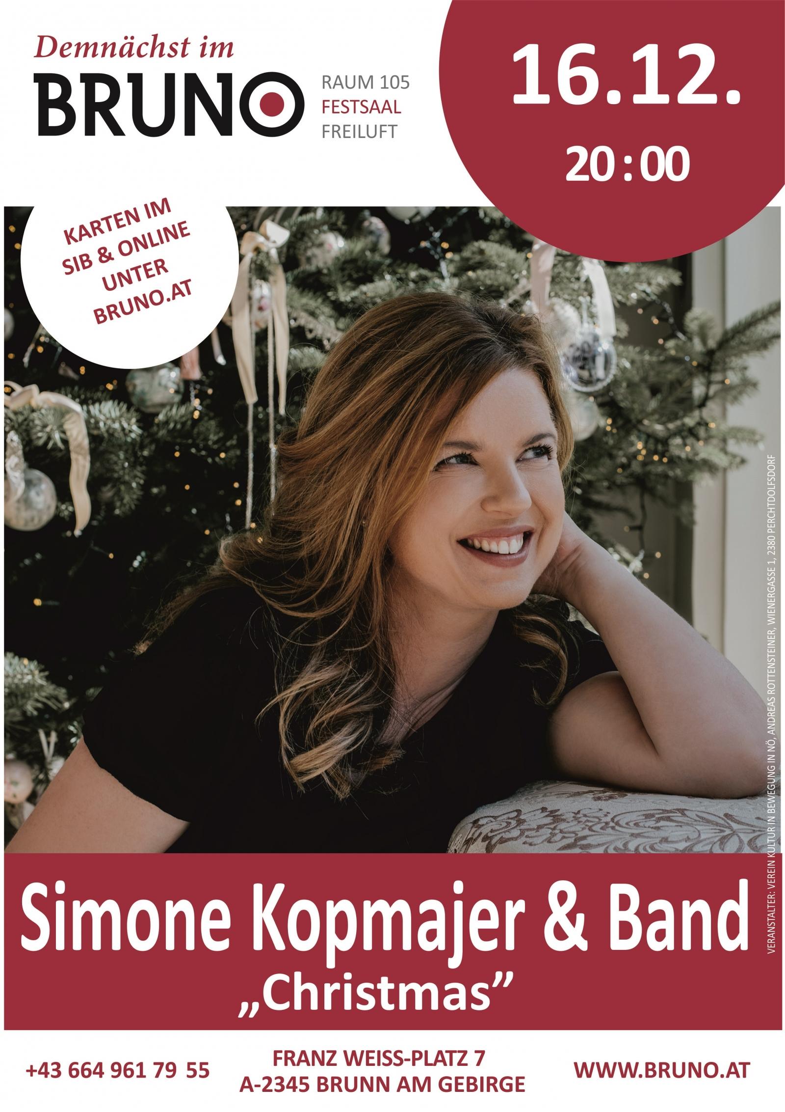 Simone Kopmajer & Band Christmas