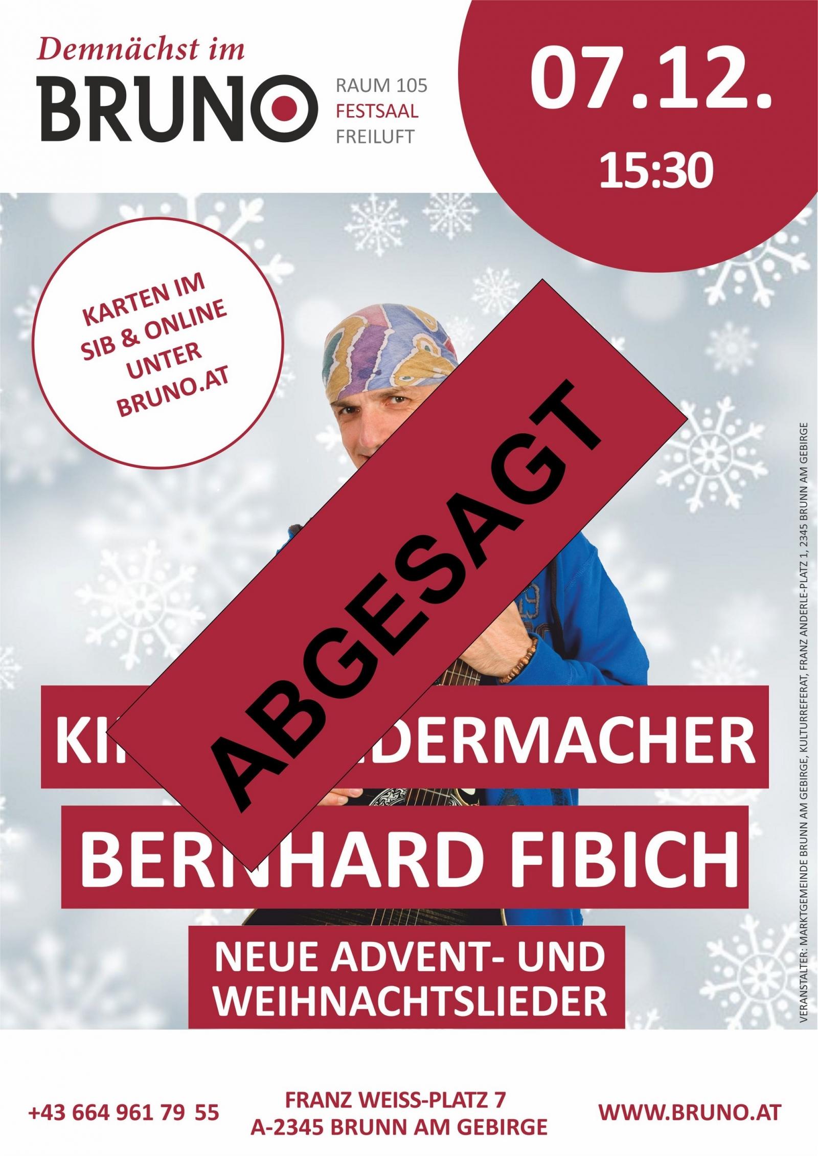 """Bernhard Fibich – """"Neue Advent- und Weihnachtslieder"""
